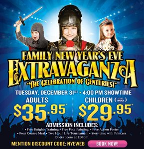 Medieval Times NYE Extravaganza