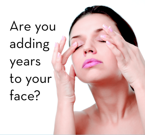 Adding years to your face